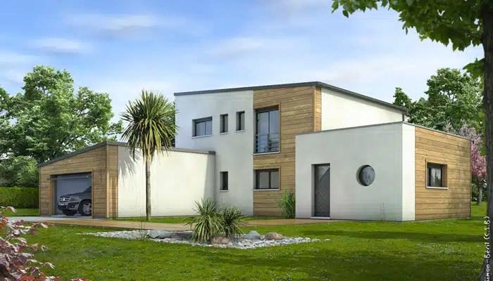 Plan maison contemporaine Cornaline