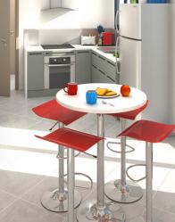 vue 3D cuisine - maison contemporaine