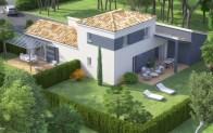 maison double logement INFINITY - vue drone