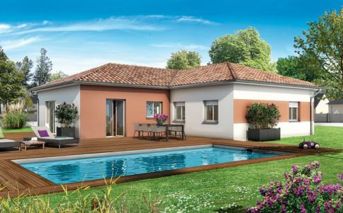 plan maison en l gratuit - modèle Lachat