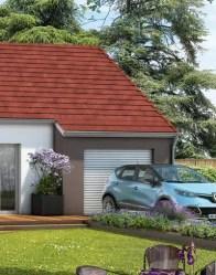 Maison en V Tulipe avec garage intégré