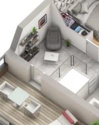 Maison individuelle Lodge : espace détente