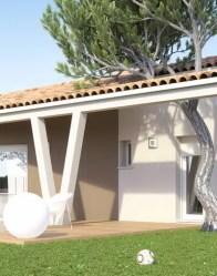 Maison individuelle Optima - terrasse couverte