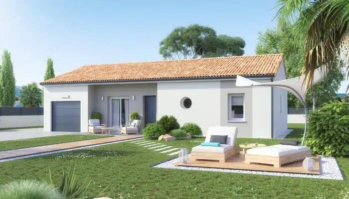 plan maison individuelle Ariane