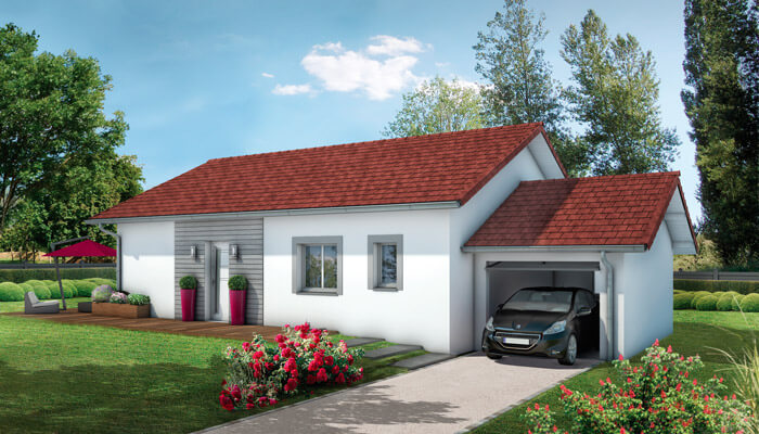 plan maison individuelle Bugey