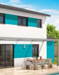 Maison individuelle Comores - enduit biton