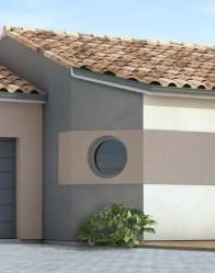 maison individuelle Eridan - pan coupé