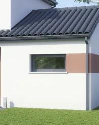 Maison moderne Touch - fenêtre panoramique