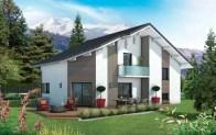 Maison moderne Bauges - plan maison gratuit