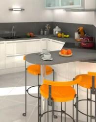 Maison moderne Bleuet - vue cuisine ouverte