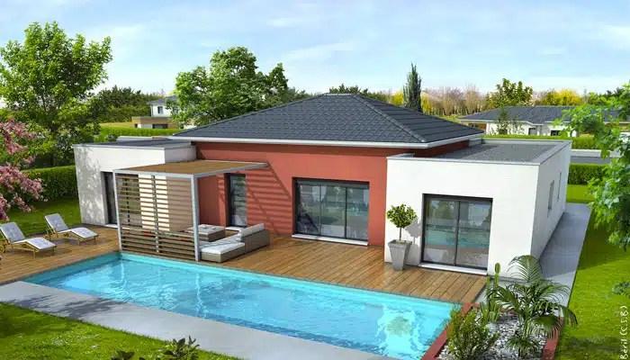 Plan de maison moderne Mahé - plan maison gratuit