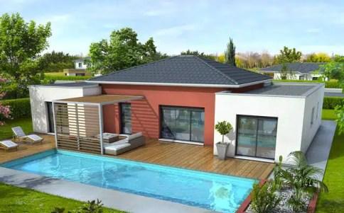 Maison Plain Pied Plan Maison Gratuit Plan Maison 3d