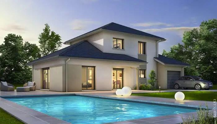 Maison Moderne Semnoz Plan Maison Gratuit Maisons Clair Logis