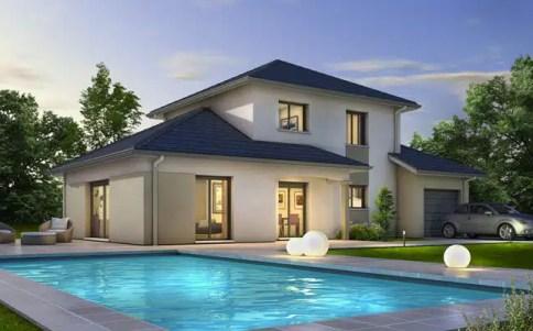Maison moderne Semnoz - plan maison
