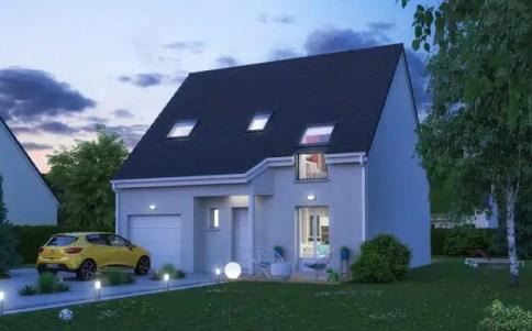 Maison neuve Jasmin - plan maison avec combles aménagés