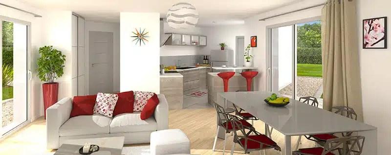 Maison neuve : aménager son salon
