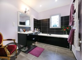 Salle de bain style art deco