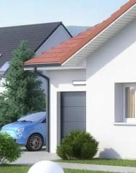 Maison plain-pied Tournette - garage accolé