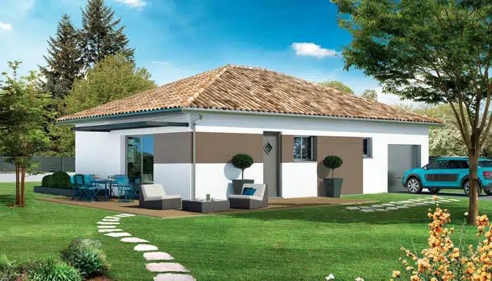 Plan maison traditionnelle beaufort maison individuelle for Maison moderne 140m2