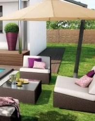 Espace détente extérieur - maison individuelle