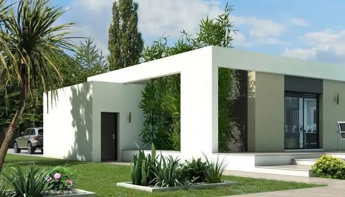 Plan Maison Toit Plat Jade Maison Contemporaine Maisons