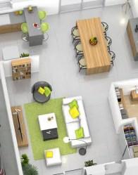 Plan maison 3D - maison plain-pied Amaryllis