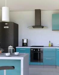 Vue 3D cuisine - maison traditionnelle