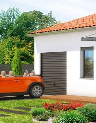 Maison de plain-pied Malte - garage intégré