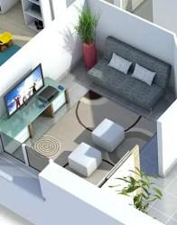 Plan maison 3D Smile