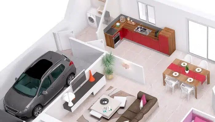 Maison individuelle Violette - Maisons Clair Logis, constructeur maison