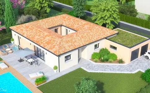 plan de maison 2 niveaux gratuit