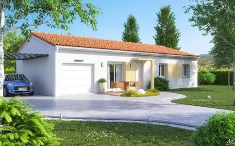 Maison plain-pied Amaryllis