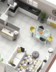 Plan 3D maison plain-pied Tournette