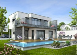 Plan maison moderne AZUR