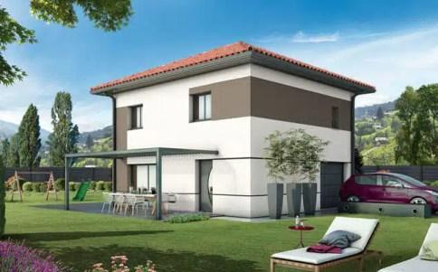 Plan maison individuelle Lauzière