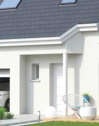 Maison neuve Jasmin - porche rentrant