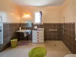 Maison PMR - salle de bain