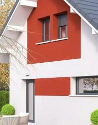 Maison individuelle Vercors - Enduit bi-ton