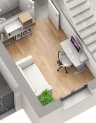 Maison à étage Vercors - Vue bureau
