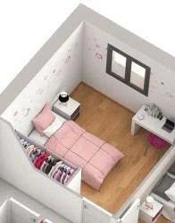 Maison neuve Snap - chambre avec placard aménagé