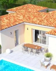 Maison plain-pied Summer - Terrasse protégée