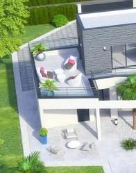 Maison à étage Dubaï - Toit terrasse