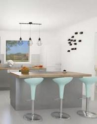 Vue cuisine ouverte - maison neuve Tanzanite