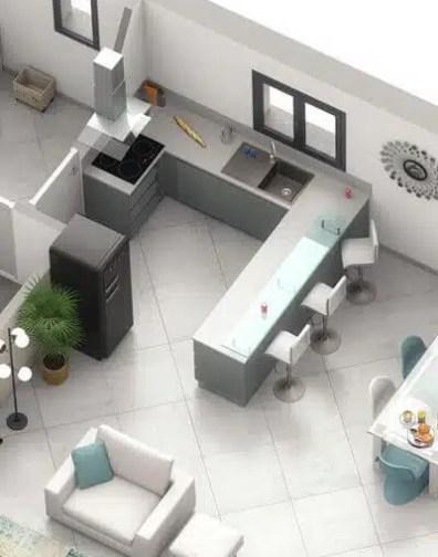 Maison plain pied Pivoine - plan de maison individuelle gratuit