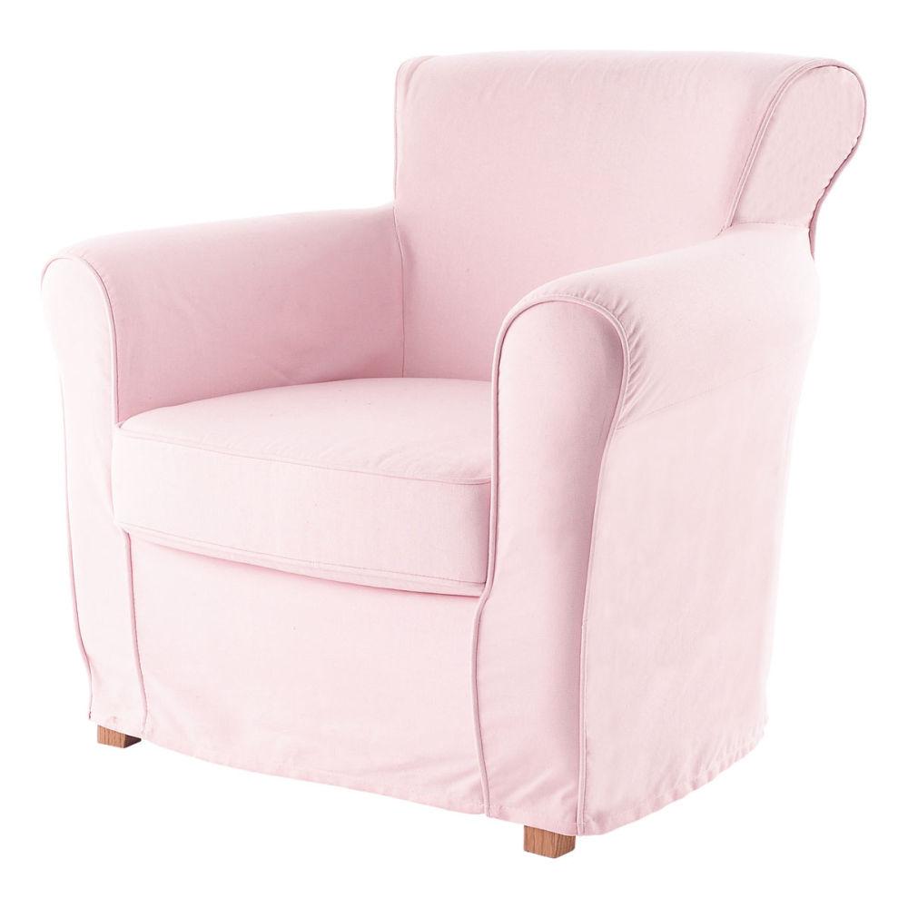 Chambre Petite Fille Princesse Fauteuil Enfant Rose Pastel