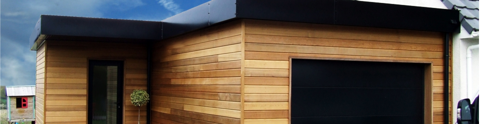 garage en ossature bois 62