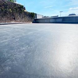 Pose d'une toiture plate à Arras