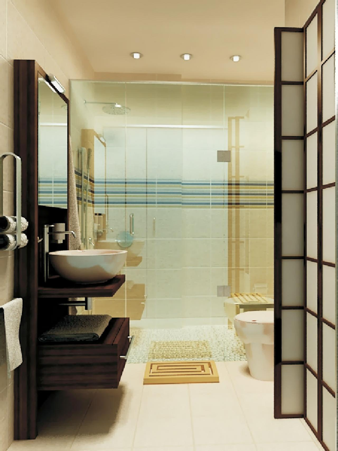 Small Luxury Bathrooms on Small Space Small Bathroom Ideas  id=55067