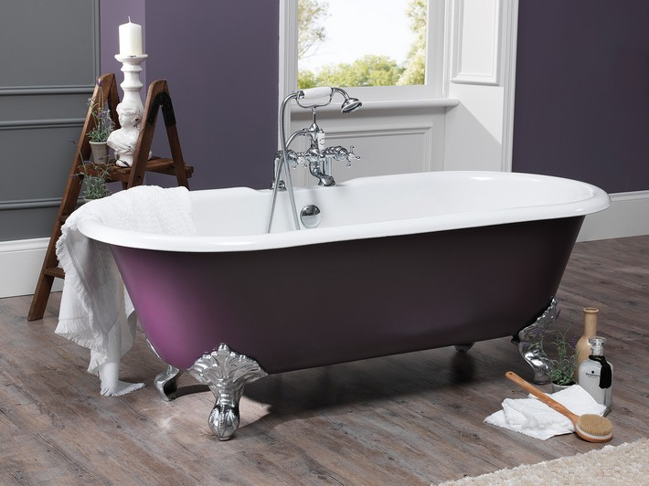 10 Roll Top Bath Design Ideas Inspiration And Ideas From Maison Valentina