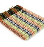 tweedmill pnw throw cob weave country stripe